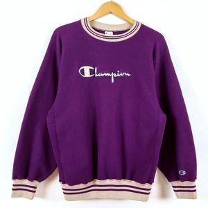 Vtg Champion Reverse Weave 90s Crew Sweatshirt
